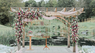 Outdoor Wedding Venue with onsite Ceremony