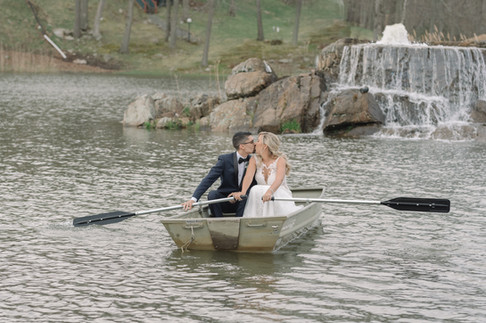 Lake Wedding in NJ