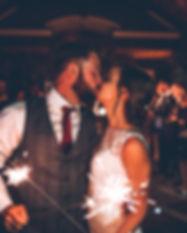 wedding venue sparklers nj