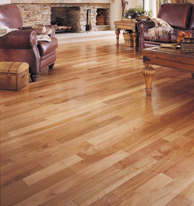 Install Hardwood flooring Light