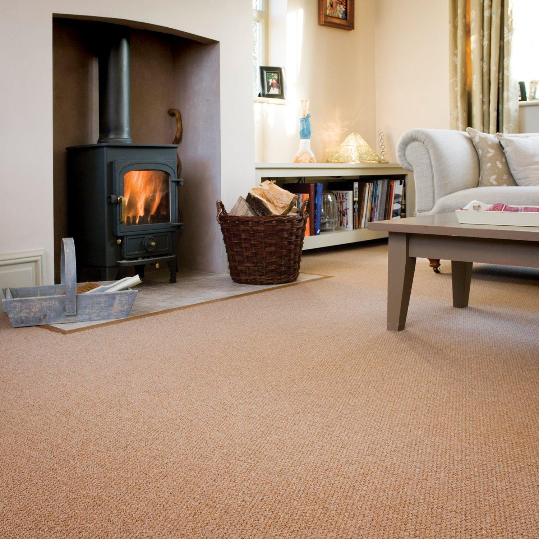 Install Pale Orange Carpet