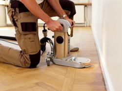 Sanding Hardwood Floor