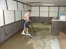 Clean out Flooded Basement