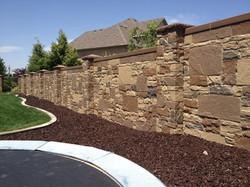 Install Stone Fence 2
