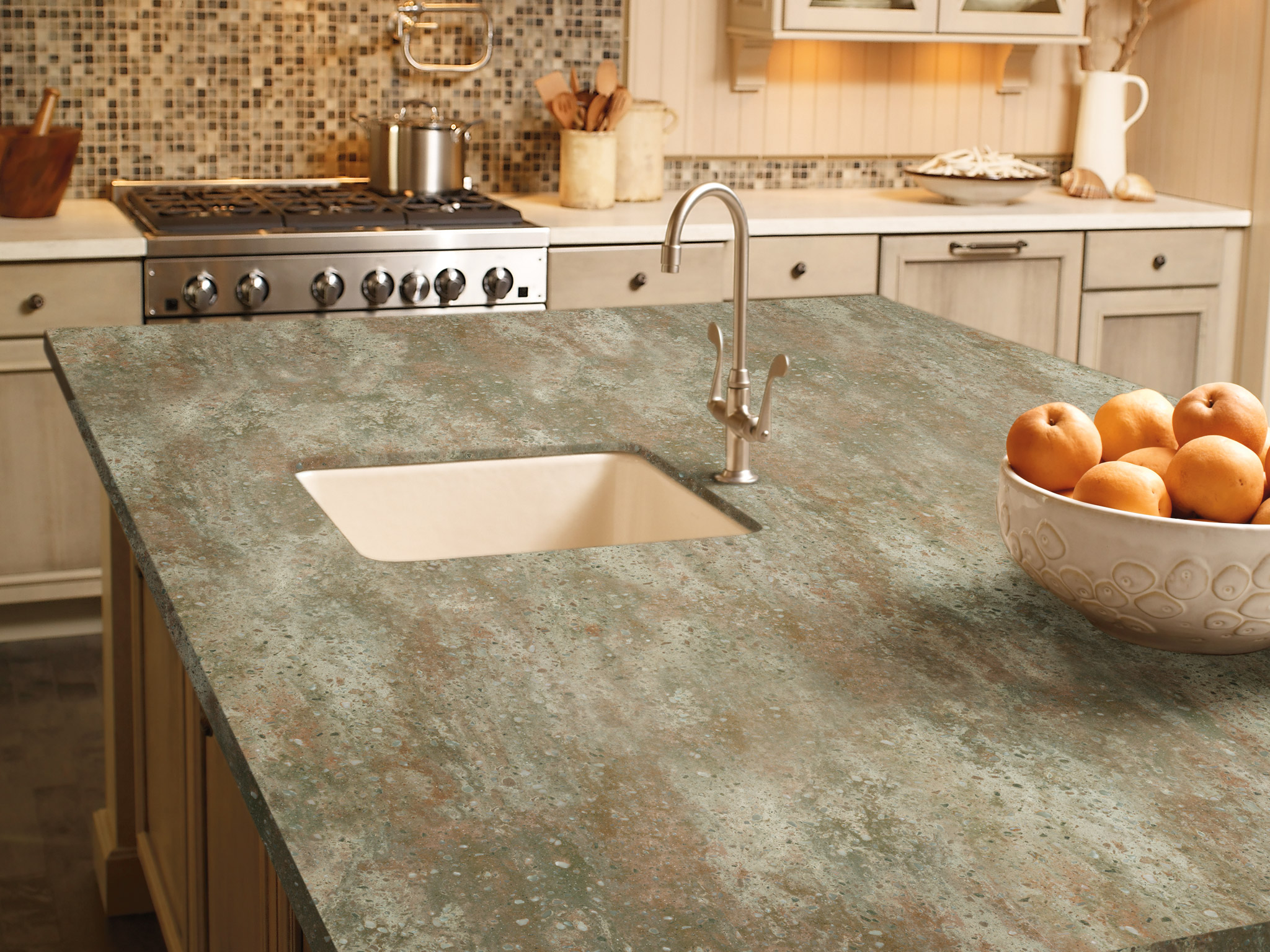 Install Granite counter top