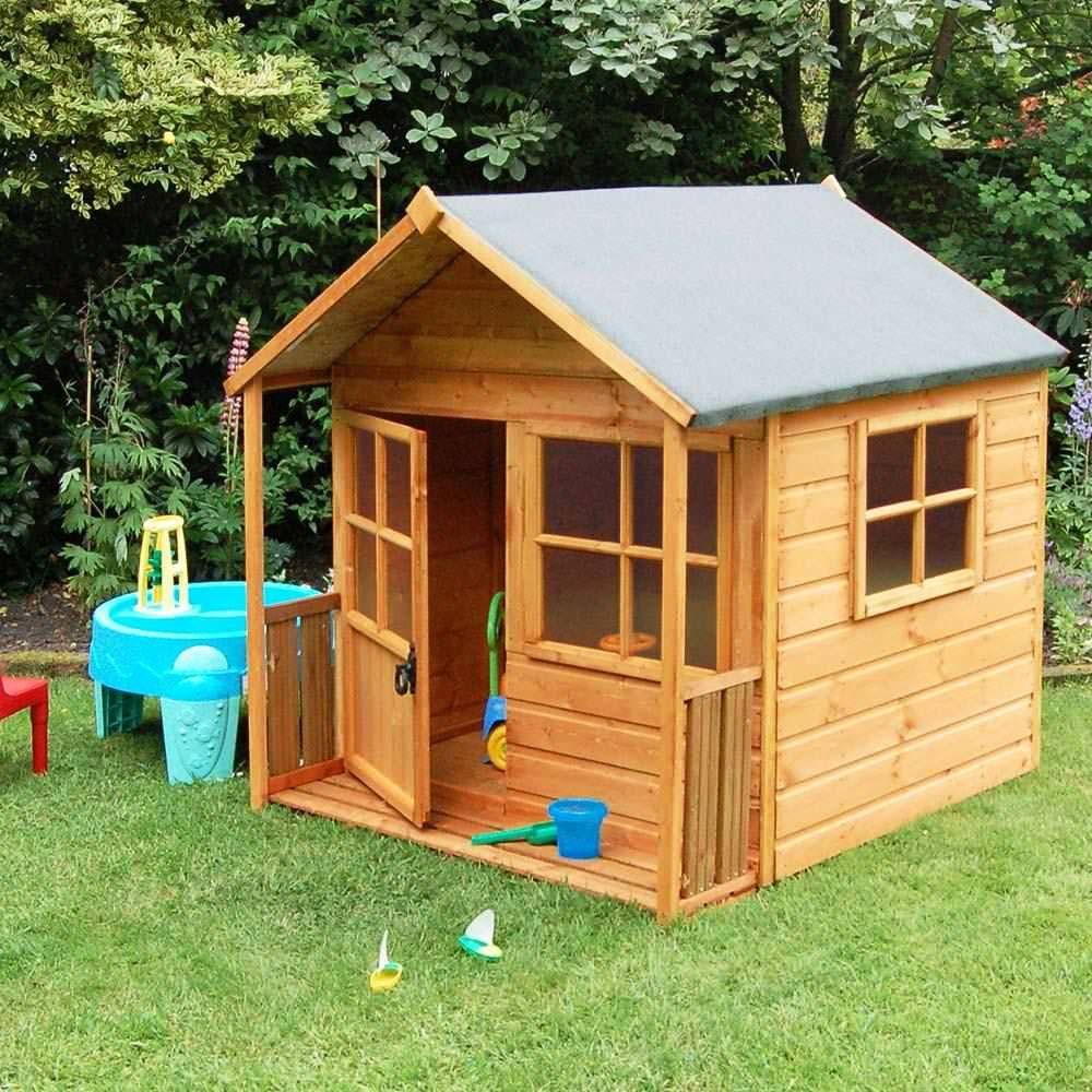 Install Backyard Playhouse for kids!