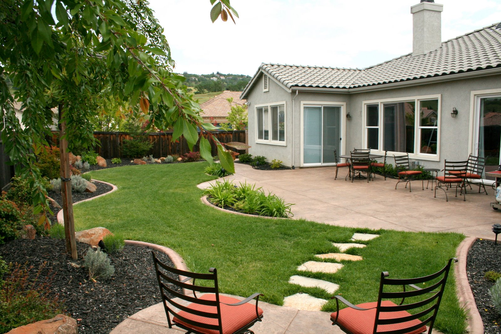 Landscaping your backyard!