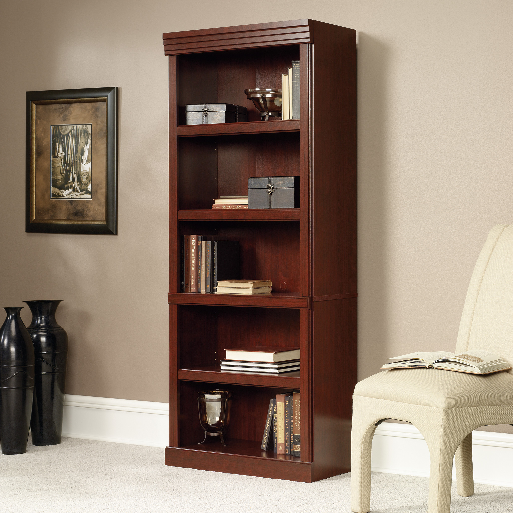 Install Bookcase 1