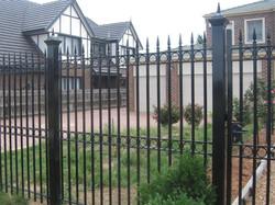 Install Steel Fence