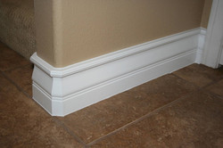 Install Base molding