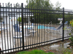 Install Steel Fence 2