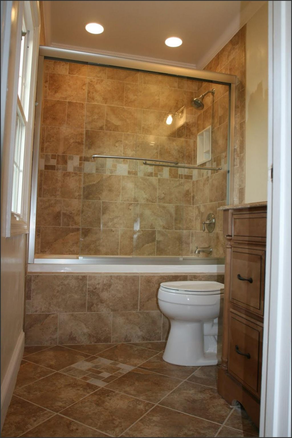 Half Bath with Stand Shower