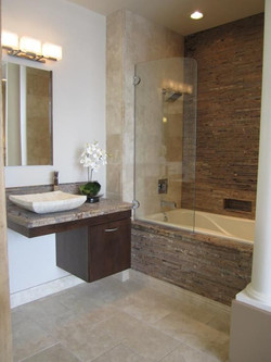 Install Shower Tub Combo