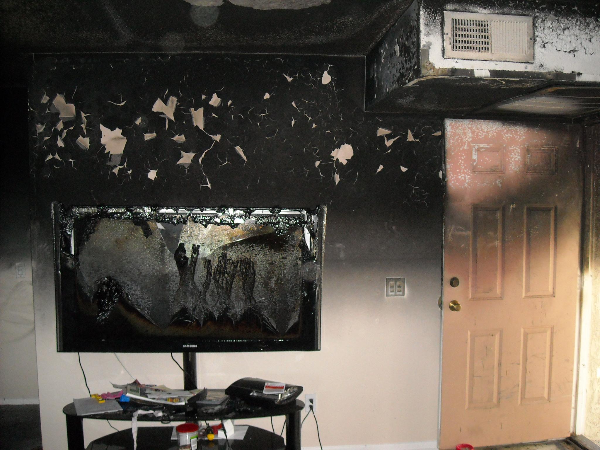 Repair fire damage