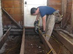 Repair Broken Floor board