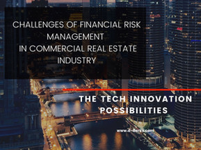 Financial risk management in CRE industry - from old to innovative