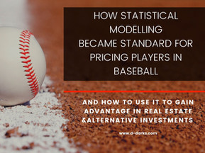 Introducing data driven financial risk management - what can we learn from baseball?