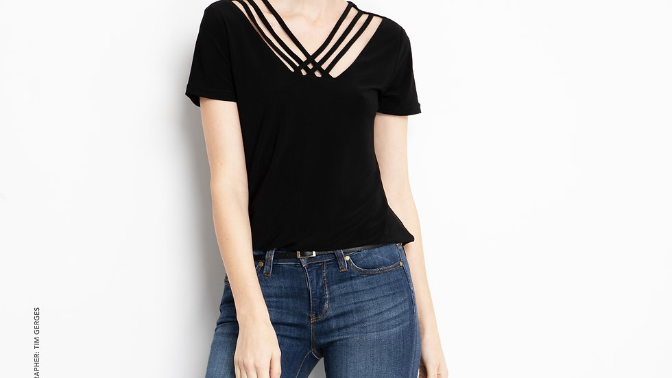 Travel Range Criss Cross Top