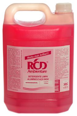 Detergente Limpa Alumínio e Aço Inox