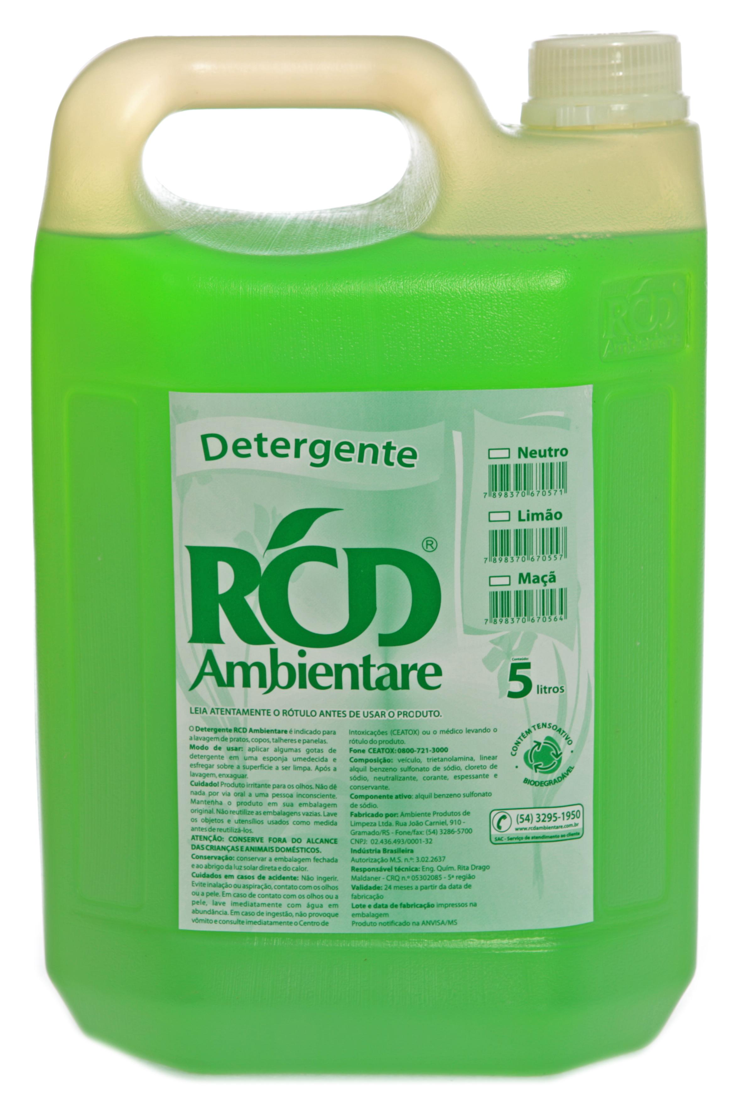 Detergente Limão