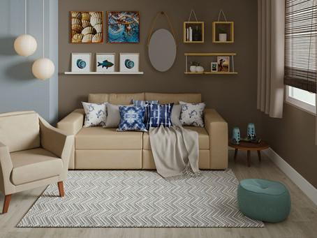 Dicas de decoração para ambientes pequenos