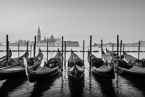 Itália - Gondolas de Veneza III