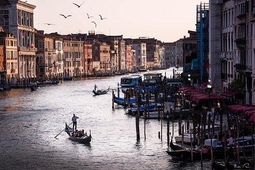 Itália - Gondolas de Veneza I