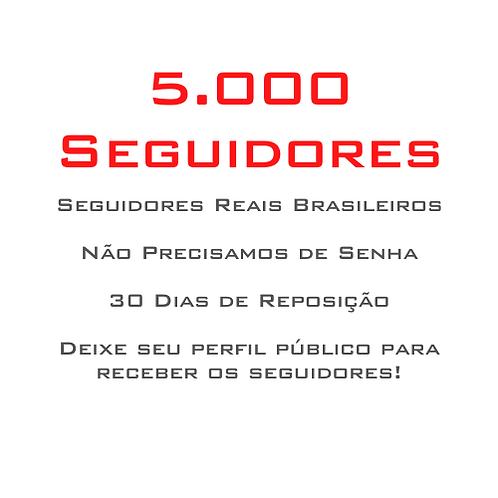 5.000 Seguidores
