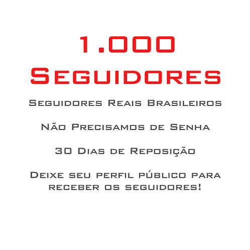1.000 Seguidores