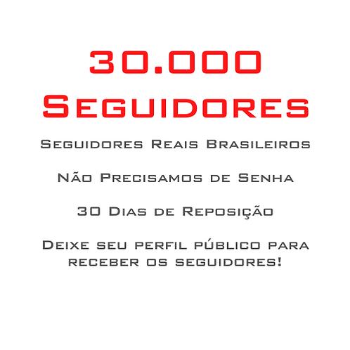 30.000 Seguidores