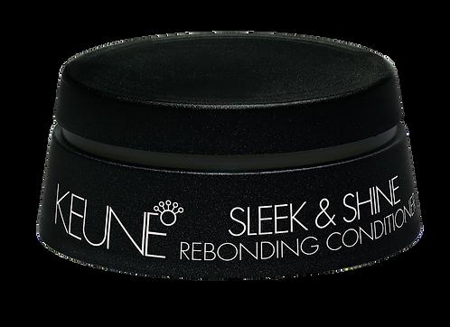 Keune Sleek & Shine Rebonding Conditioner - Máscara de Reconstrução