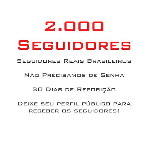 2.000 Seguidores