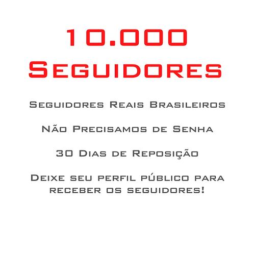 10.000 Seguidores