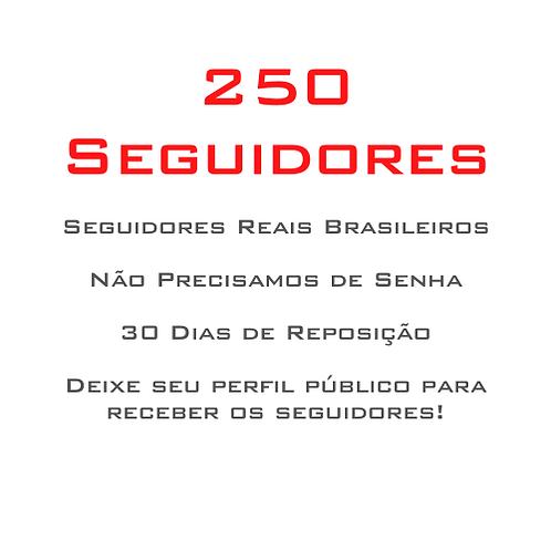 250 Seguidores