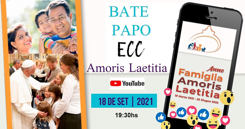 BATE PAPO ECC – AMORIS LAETITIA