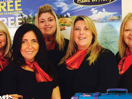 Say a big hello to Home or Away Holiday Shop, who were members of the Freedom Travel Group.