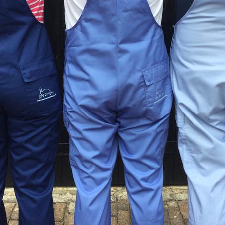 Three colours blue