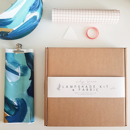 Lampshade Kit & Fabric