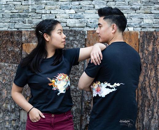 Dragon T shirt ( Black )_.jpg