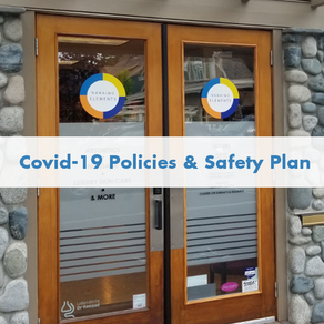 Covid-19 Spa Policies & Safety Plan