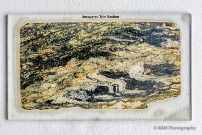 Uncovered Thin Section