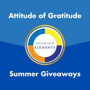 Attitude of Gratitude Giveaways