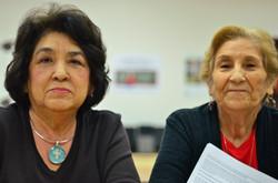 Lucia Marquez and Enosencia Villegas