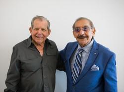 Ernest Rodriguez and Cirilo Perez