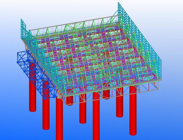 Structure béton/acier