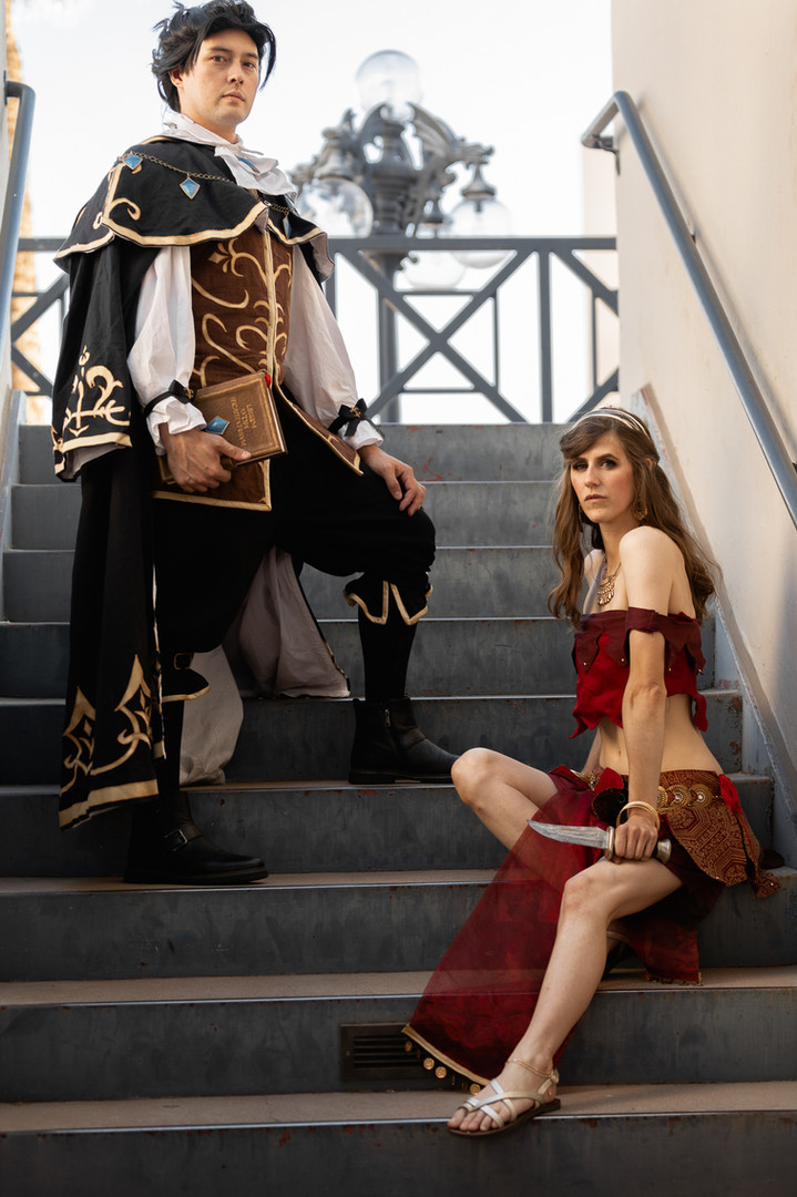 Octopath cosplay