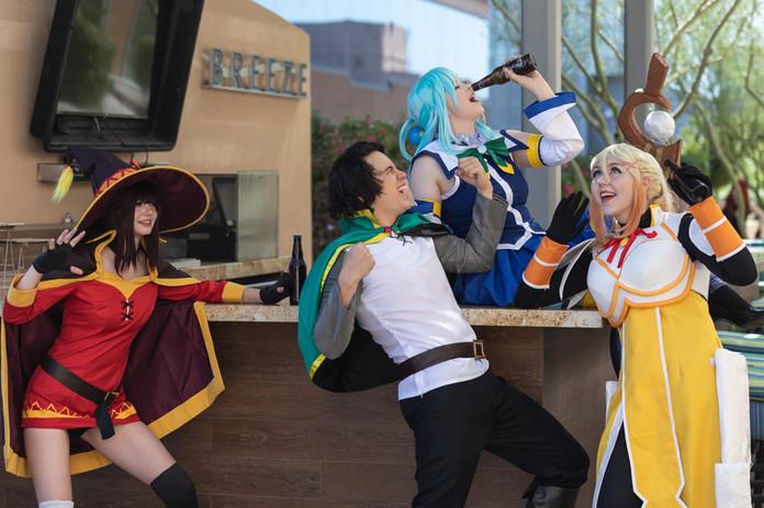 Konosuba cosplay