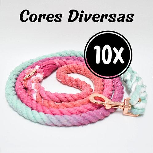 Kit 10 Guias - Cores Diversas