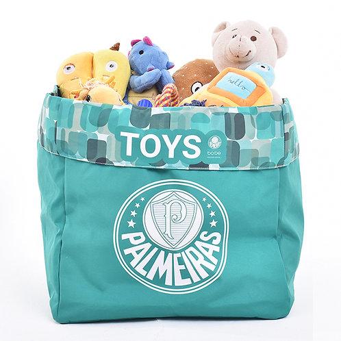 Caixa de Brinquedo Palmeiras Escudo