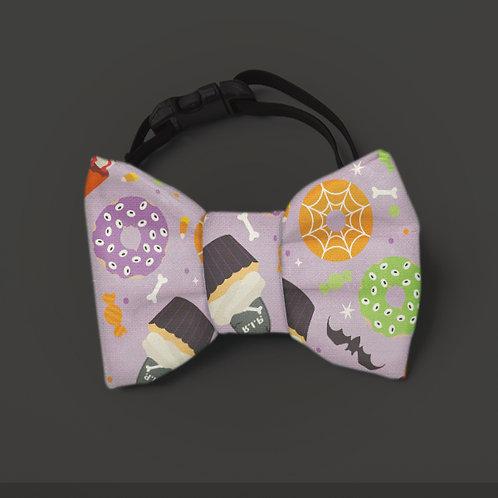 Laço/Gravata Lâmpada Mágica Halloween Monstrinhos
